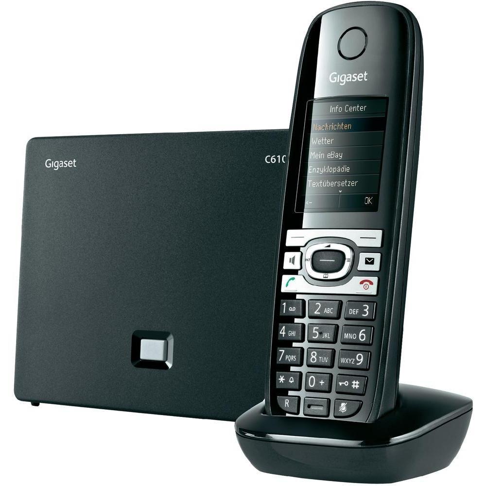 телефон Gigaset перезагружается