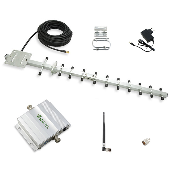 Комплект усиление сотовой связи VEGATEL VT-1800-kit