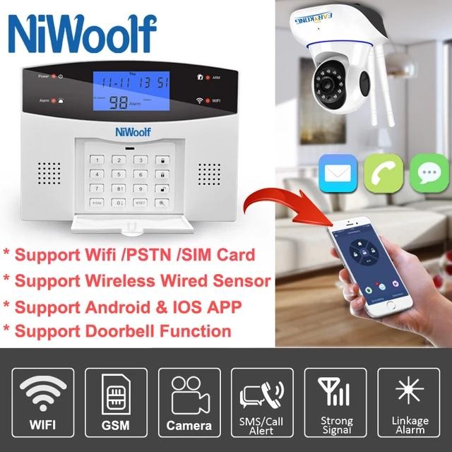Wi-Fi GSM сигнализация